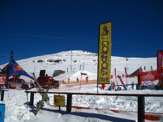 AfriSki Ski and Mountain Resort: At the bottom of the ski slope
