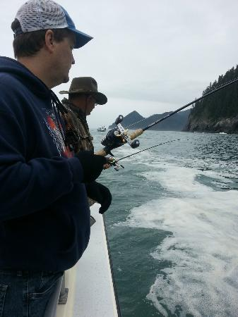 Crackerjack Sportfishing Charters : Halibut/Salmon Charter August 15, 2012