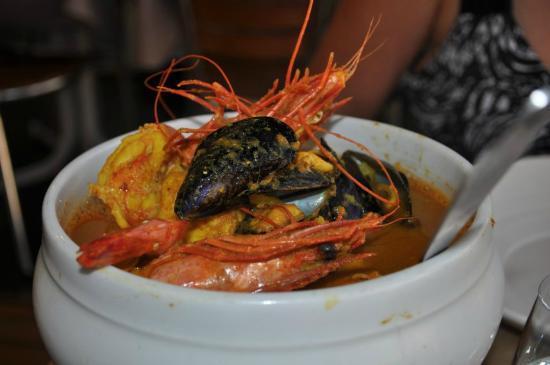 Chez Aldo: Our seafood soup