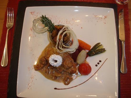 Rêves Gourmands : Assiette plat principale