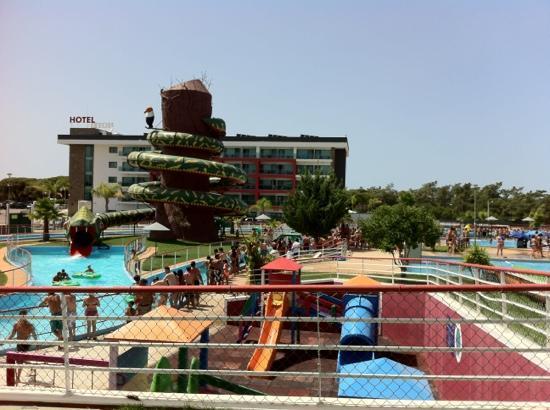 Aquashow Park: the snake ride