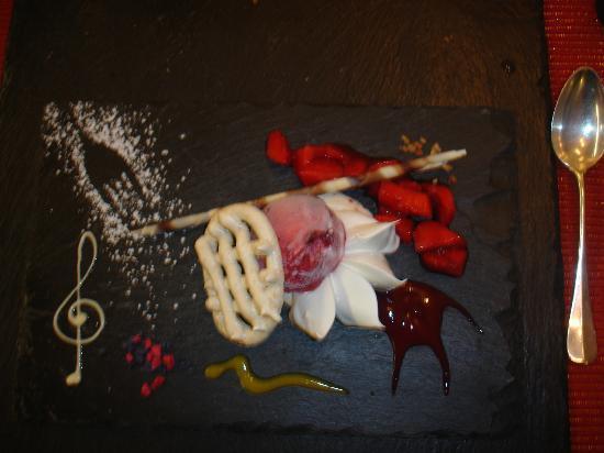 Rêves Gourmands : Assiette dessert