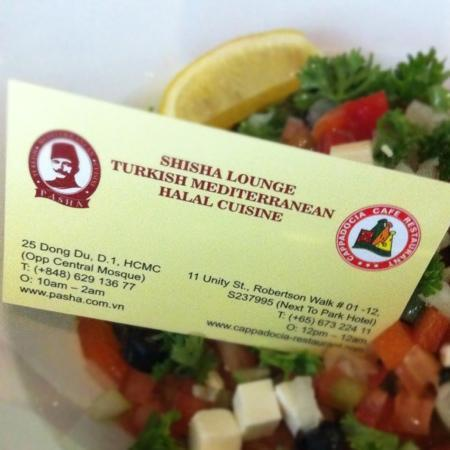 Pasha : la salade du berger...