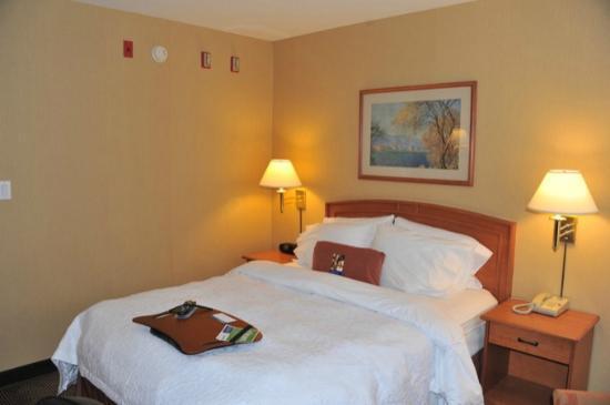 Hampton Inn by Hilton Vancouver Airport: lit confortable