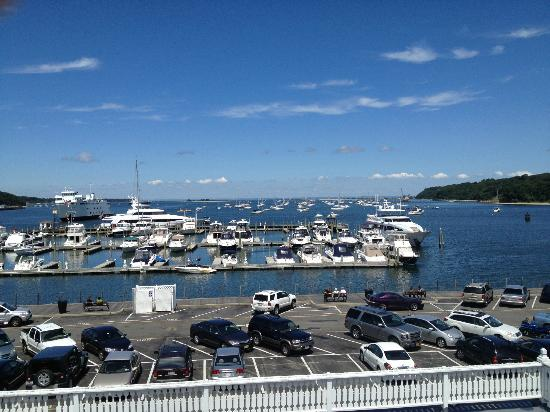 Danford's Hotel & Marina: Top Floor Balcony View