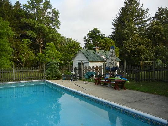 Mill Stone - Mt Penn Lodging : Outdoor pool