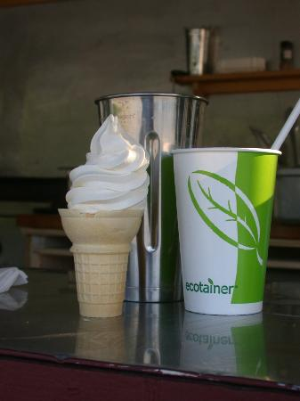 Black Bear Sugarworks Farm Stand: Maple Creamie and a Milk Shake