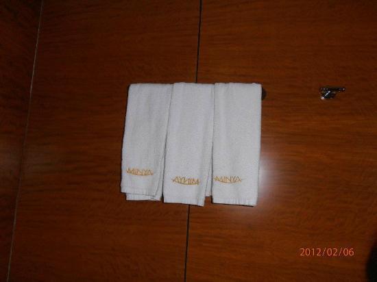 Minya Hotel Pudong Shanghai: towels