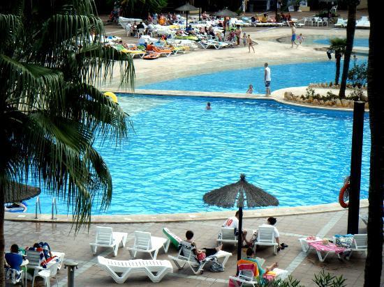 Club Cala Romani: Pool taken from balcony