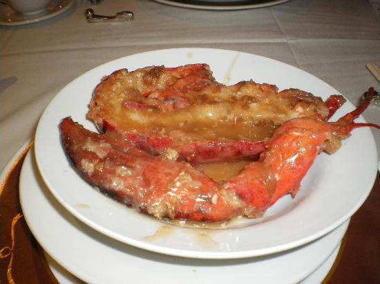 Kirin Mandarin Restaurant: オマールが美味しかった。
