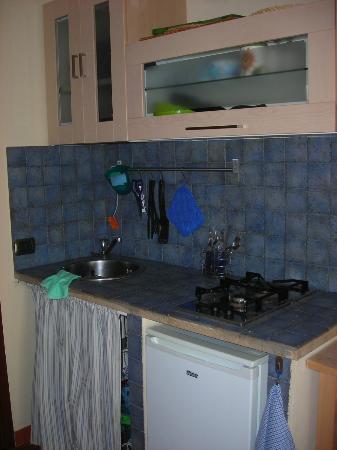 La cucina senza la cappa di aspirazione - Foto di Agriturismo ...
