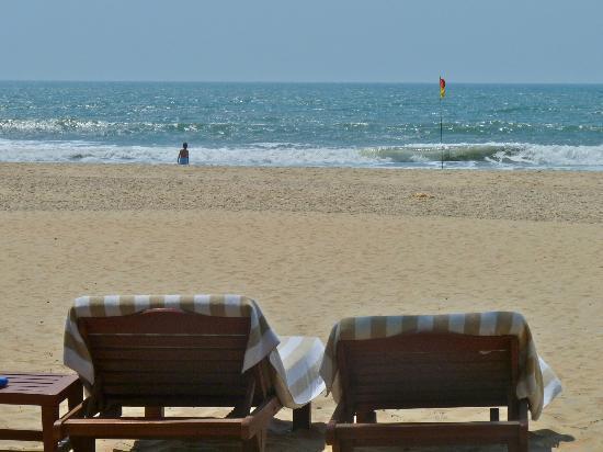 The Leela Goa: Sugary sand