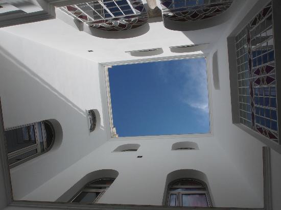 Siete Revueltas Singular Apartments : パティオ