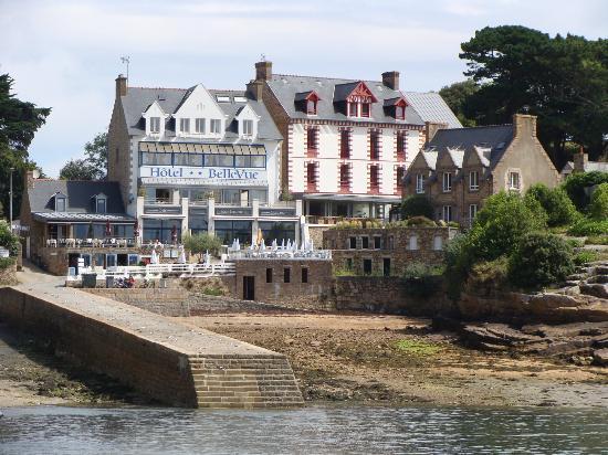 Hotel BelleVue : Hôtel Bellevue sur l'île de Bréhat