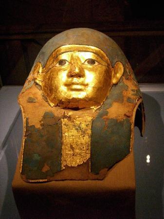Albergo Ristorante San Marco: maschera egiziana