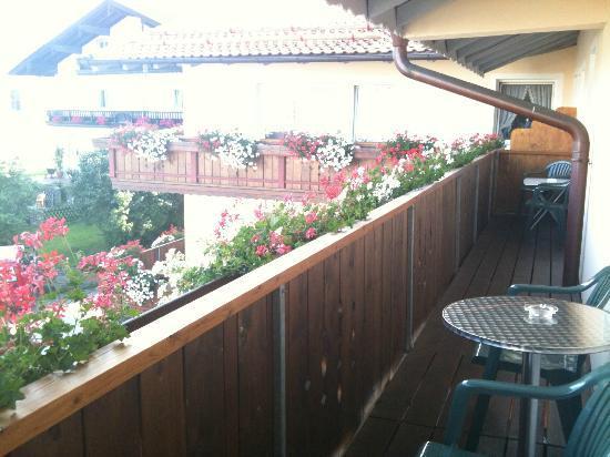 Landhotel beim Has'n: Balcone condiviso