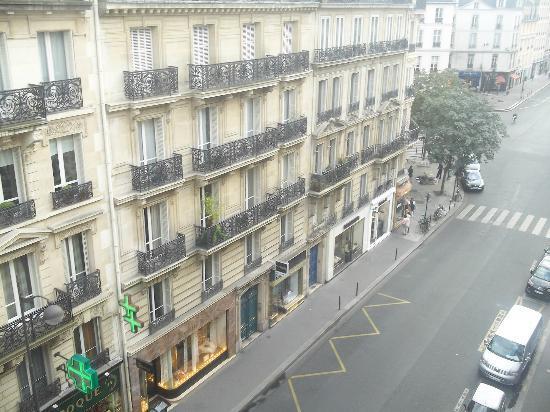 Hotel de Saint-Germain : view from your balcony
