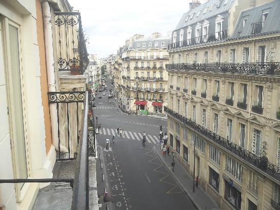Hotel de Saint-Germain: view from the balcony