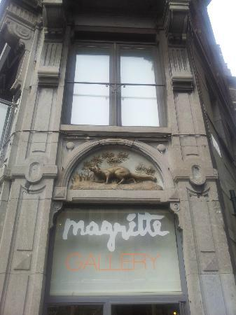 Musee Magritte Museum - Royal Museums of Fine Arts of Belgium : Gallery entrance