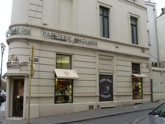 """Papeterie Anglaise"" in Avenue Louise"