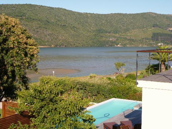 Amanzi Island Lodge: Side lagoon view