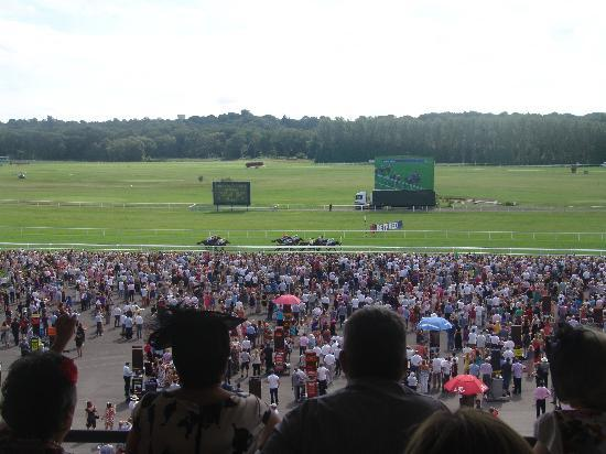 Newbury Racecourse: View of the course