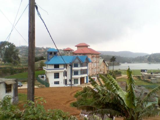 Pello Lake Resort: View Fro Top Of A Hill