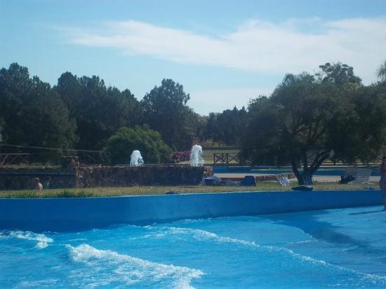 Aquatic Park Termas de Salto Grande: Olas  y mas olas !