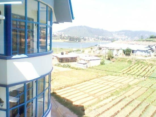 Pello Lake Resort: View From Room
