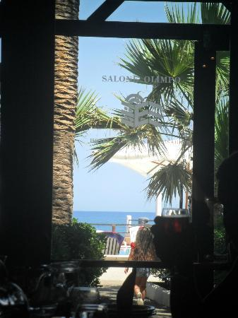 Hotel Club Village Costa Elisabeth : Veduta dalla Sala Olimpo