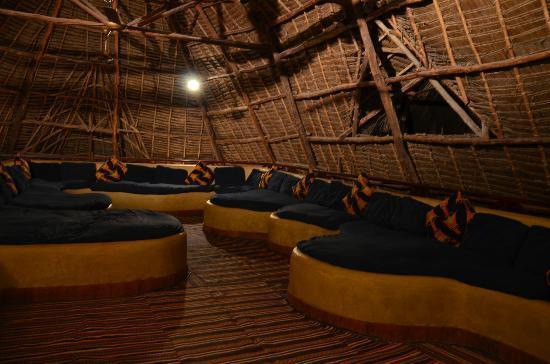 The Z Hotel Zanzibar : la salle de lecture/ espace internet