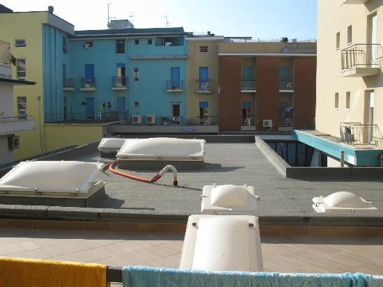 Hotel Estense: la particolare vista della family suite