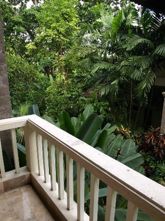 Hotel Kumala Pantai: Balcony view