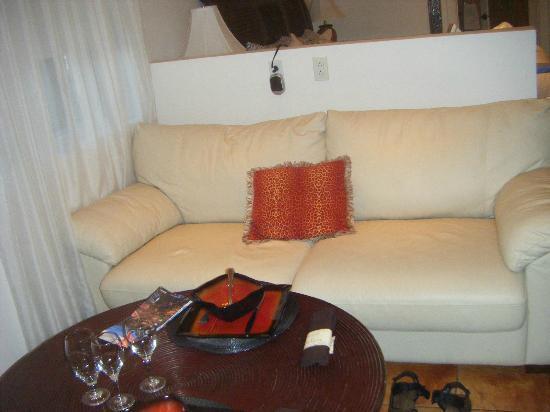 Hotel Kutuma: living area