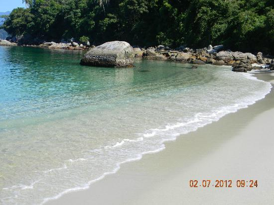 Ilha da Gipóia: praia do dentista