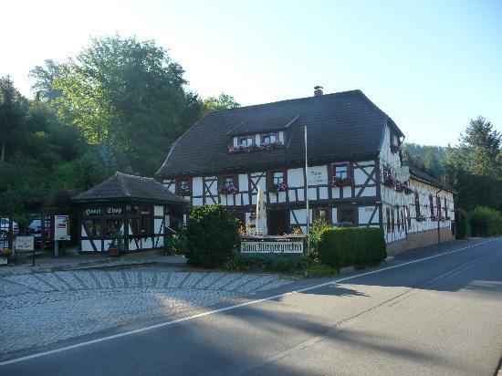 Hotel Zum Bürgergarten: Hoofdgebouw hotel