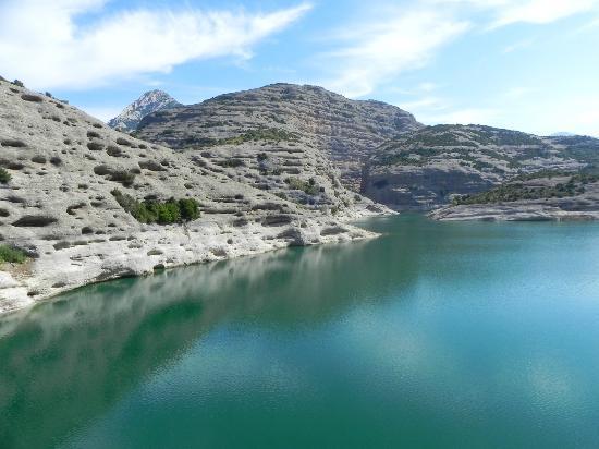 Parque Natural de la Sierra y Cañones de Guara: Embalse Badiello