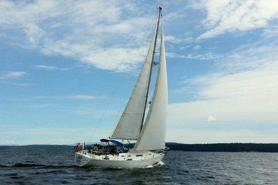 "The Ocean Beckons Gulf Islands Charter: The charter Vessel ""Bateau du Vent"""