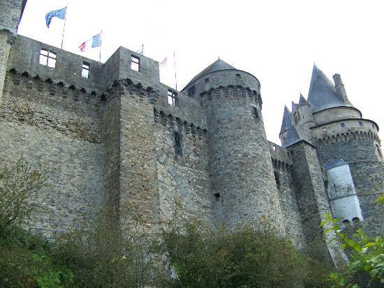 Hotel du Chateau : Chateau d' Vitre