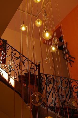 Hotel De La Loge : Stairway