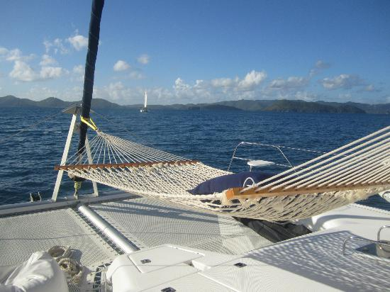 Dreaming On Yacht Charters: best seat on the boat