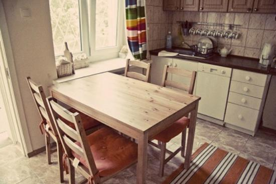 Lost and Found Hostel: Kitchen