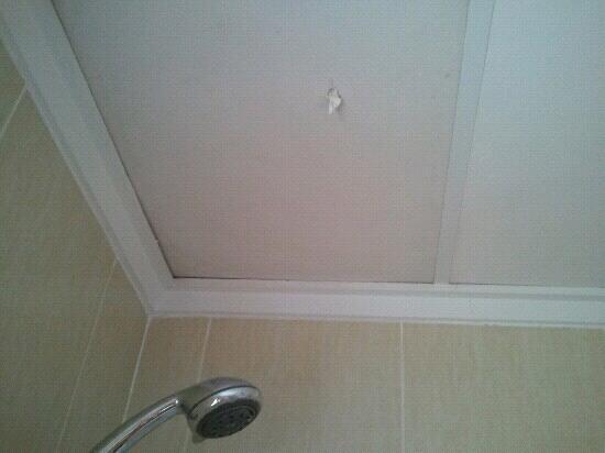 Pinosol : agujeros tapados con papel