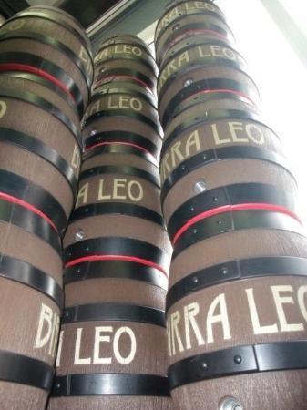 Birra Leo : Colonna du fusti
