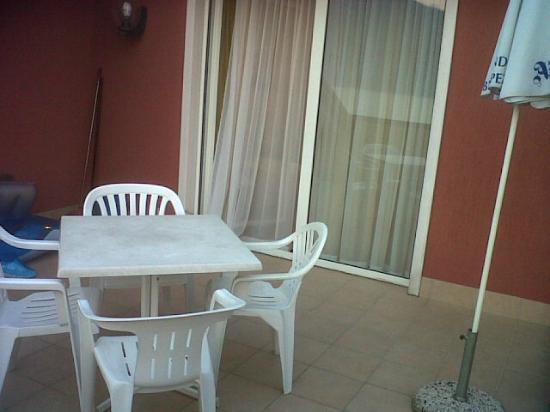 Residence Castelli: terrazza