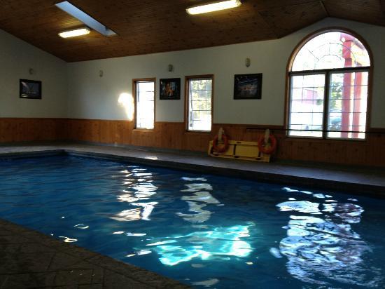 Cedar Lodge Motel : good size pool, but not very deep