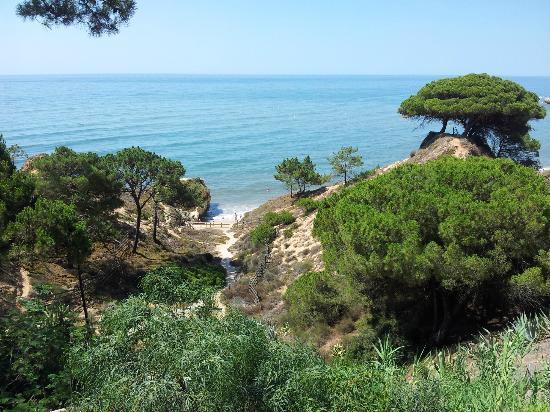 Alfagar Aldeamento Turistico: Vista de la playa desde a la que se accede desde el Hotel