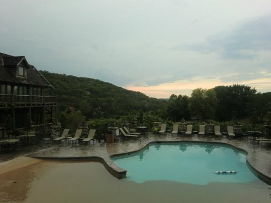 The Wilderness Club at Big Cedar: one of the pools