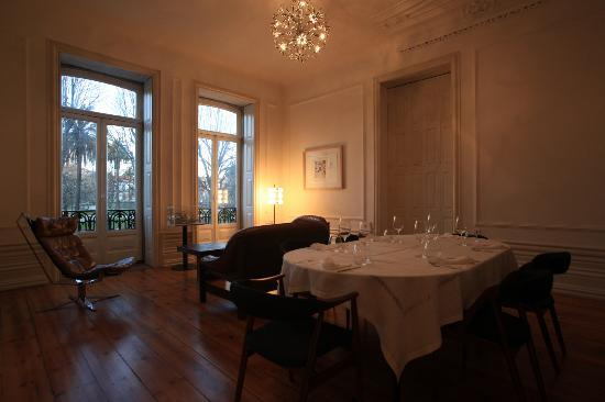 Private dining at Arquivo