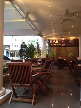 East Suites: terrasse